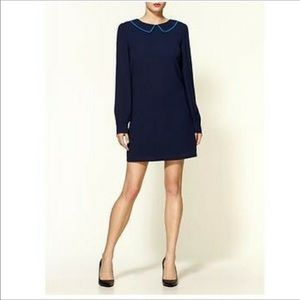 Tinley Road Navy Peter Pan Collar Shift Dress S